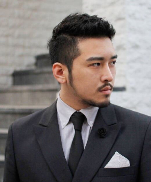 Model Rambut Pria Pendek Korea untuk Acara Formal
