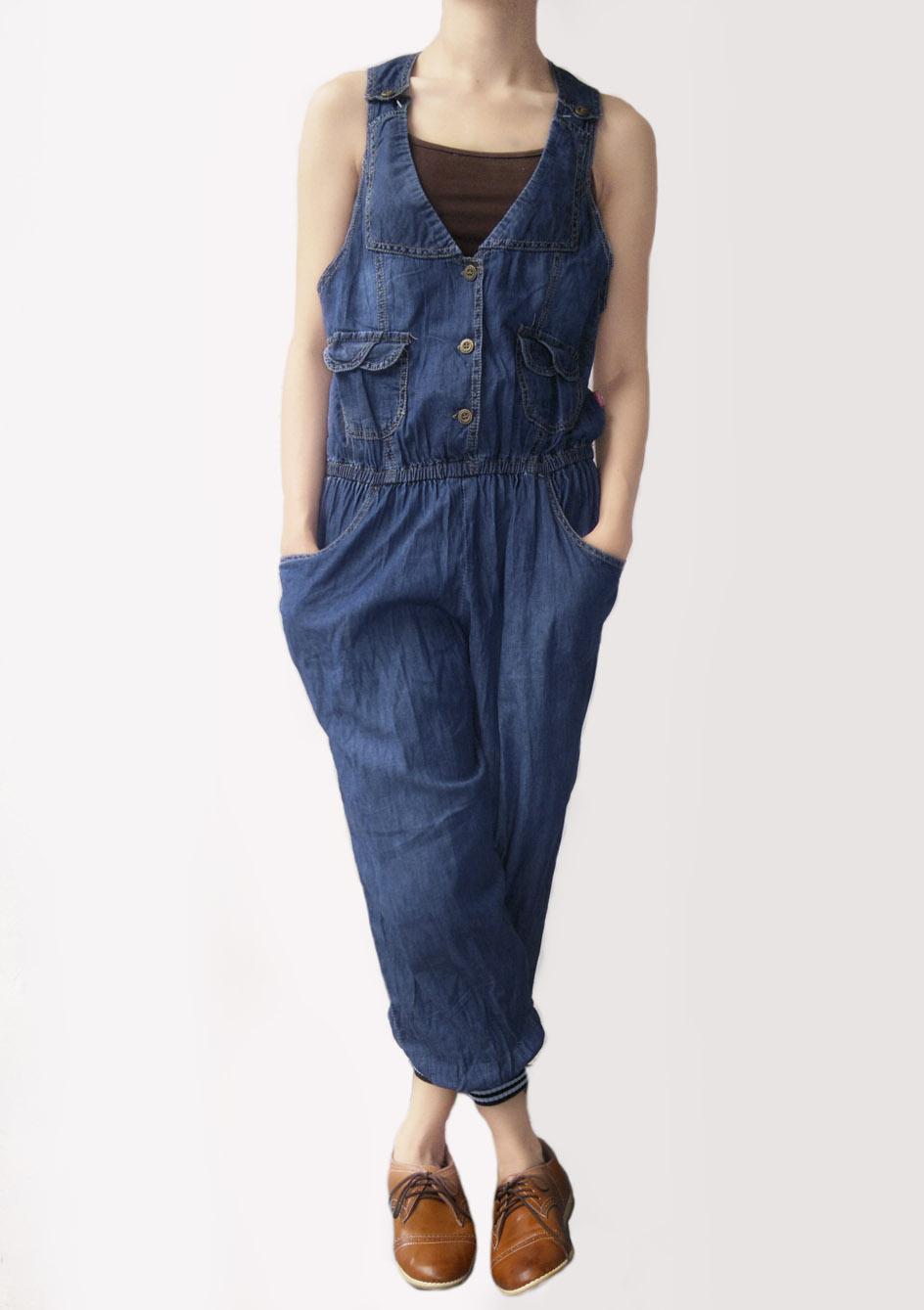 Baju dan Celana Kodok Jeans 1