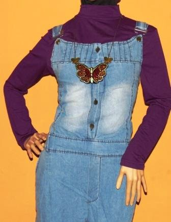 Model Baju dengan Celana Kodok untuk Muslimah