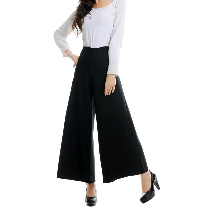 Model Celana Kulot Wanita Terbaru 1