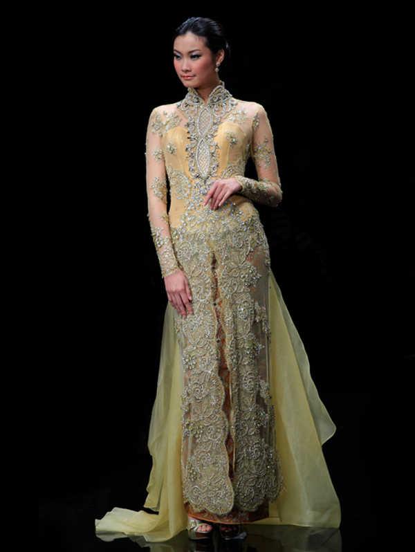 Model Rok Kebaya Panjang