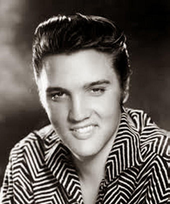 Gaya Rambut Pompadour Klasik ala Elvis Presley