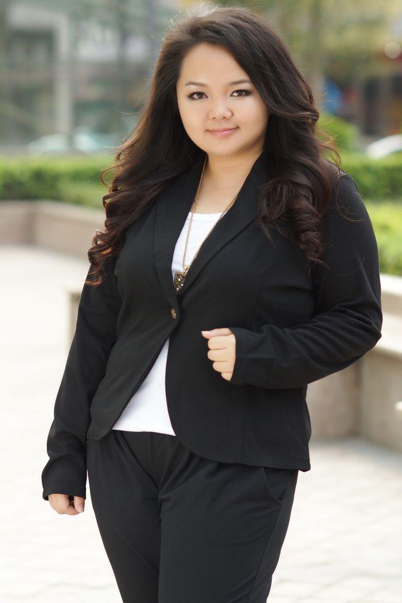 Model Baju Kerja Wanita Gemuk Paling Trendy