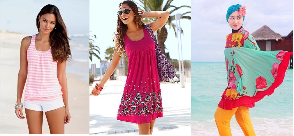 Model Baju Pantai Wanita