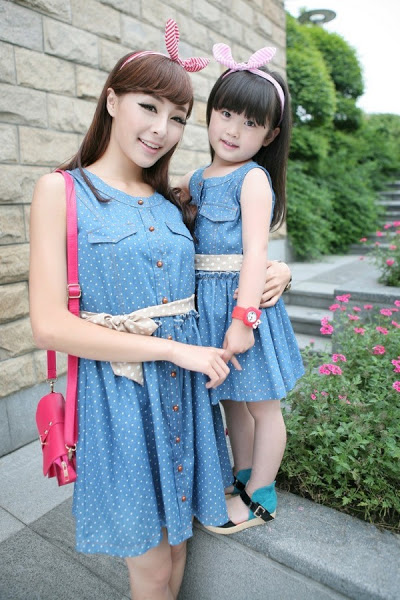 Model Baju Pesta Anak Perempuan Couple Bergaya Korea