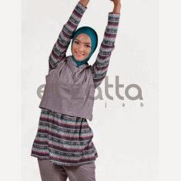Model Baju Senam Muslim dari Elzatta Terbaru
