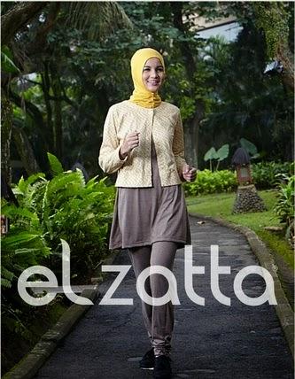 Model Baju Senam Muslim untuk Jogging