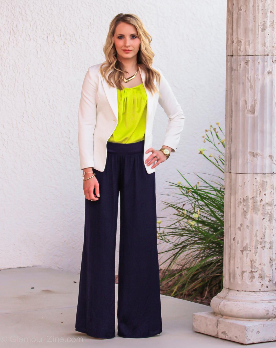 Model Celana Palazzo Wanita untuk Kerja