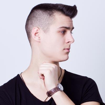 Model Rambut Pendek Pria untuk Wajah Bulat