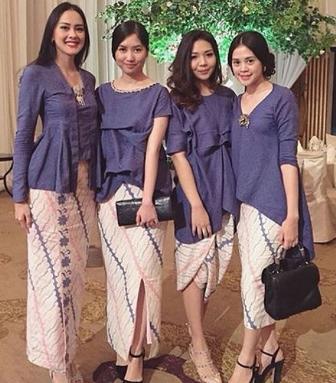 Model Rok Span Batik Paling Cantik