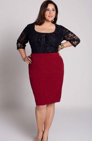Model Rok Span Pendek untuk Wanita Gemuk
