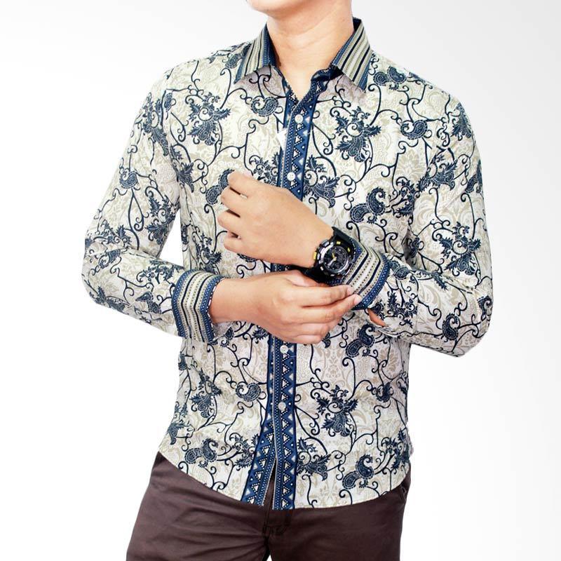 Model Baju Batik Muslim Pria Lengan Panjang untuk Anak Muda