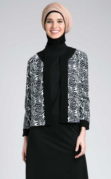 Model Baju Batik Muslim Untuk Wanita Muda yang Sederhana
