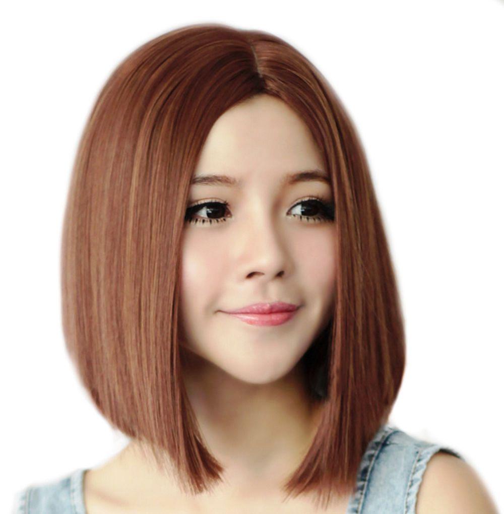 Model Rambut Sebahu Lurus dengan Layer Rapi