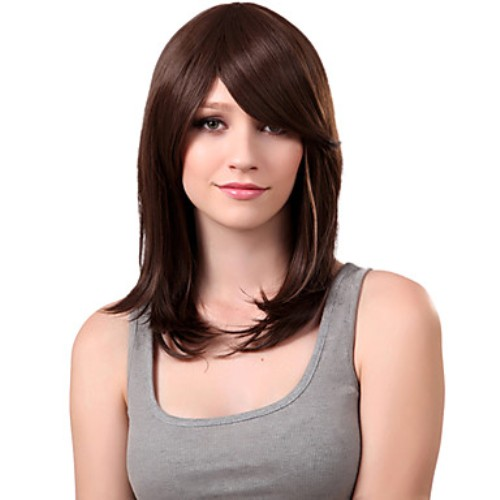 Model Rambut Sebahu Lurus dengan Layer