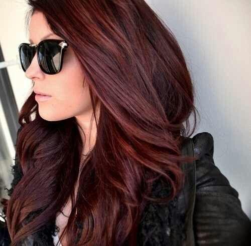 Warna Rambut Coklat Kemerahan Terbaru