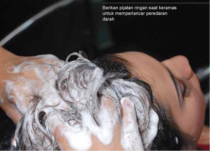 Cara keramas rambut yang benar