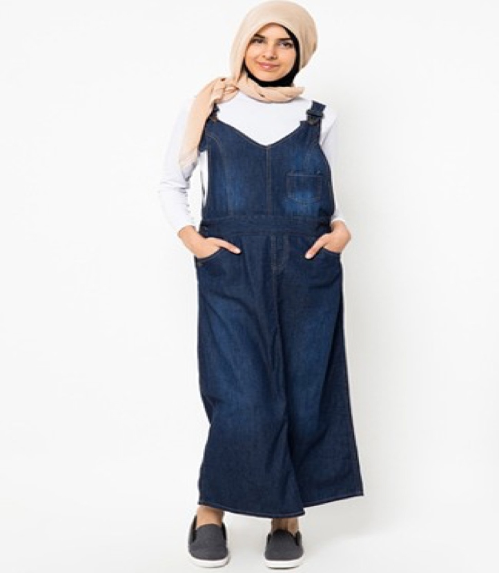 Baju kodok jeans muslimah