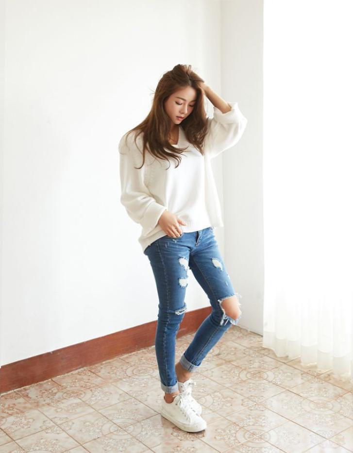 Jeans Disorientasi Model dan Ukuran