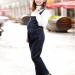Contoh Model Baju Kodok Jeans Wanita Terkini