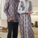 27 Model Baju Batik Muslim untuk Pria dan Wanita Paling Lengkap